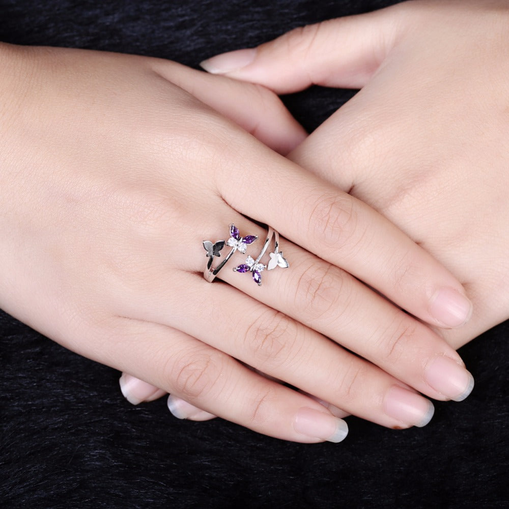 Exclusive Resizeable Butterfly Ring – Jungle of Jewels