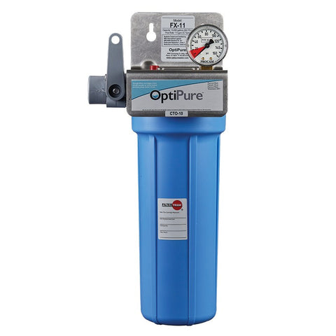 OptiPure FX-11, 160-50010, 10 inch Single Carbon Filter System