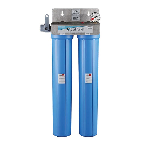 OptiPure FX-22, 160-50025, Dual 20 inch Carbon Water Filter System