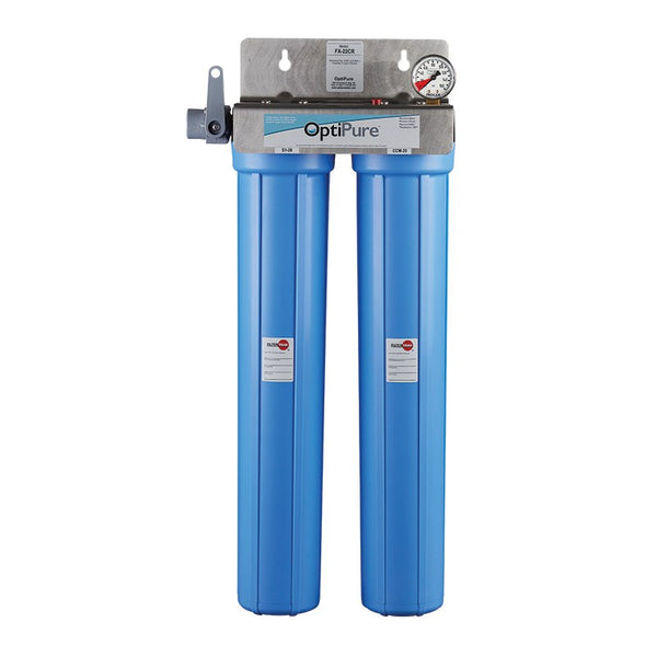 OptiPure FX-22CR, 160-50027, Dual 20 inch Chloramine Reduction Water Filter System