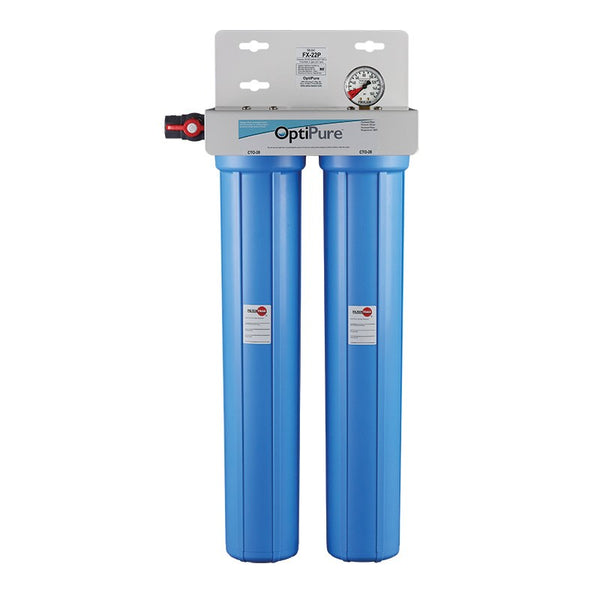 OptiPure FX-22P, 160-50030, Dual 20 inch Carbon Water Filter System