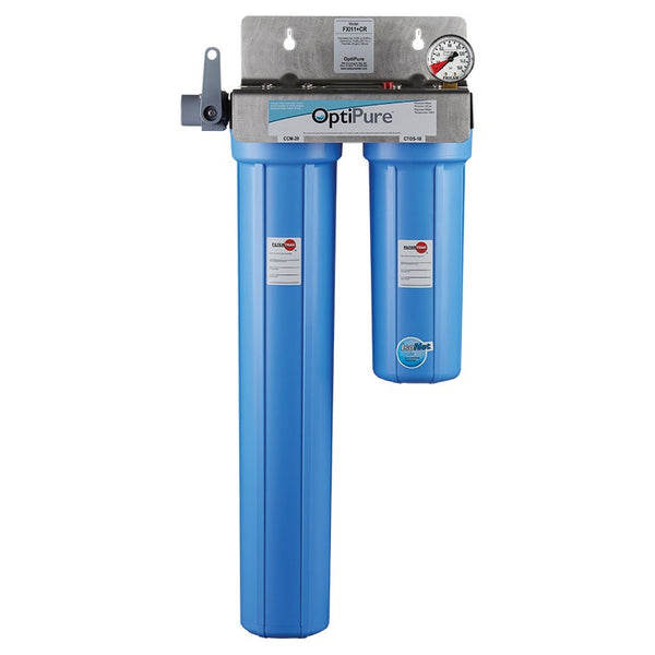 OptiPure FXI11+CR, 160-50185, Dual Carbon/Chloramine Reduction Water Filter System