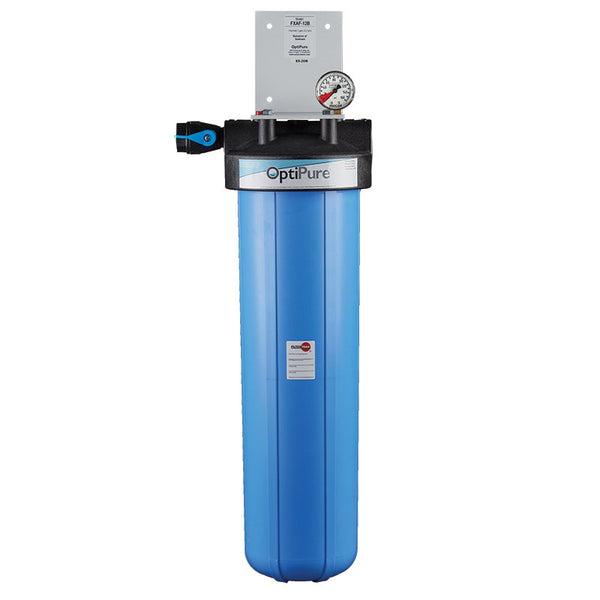 OptiPure FXAF-12B, 160-50340, 20 inch Single Big Blue Sediment Water Filter System