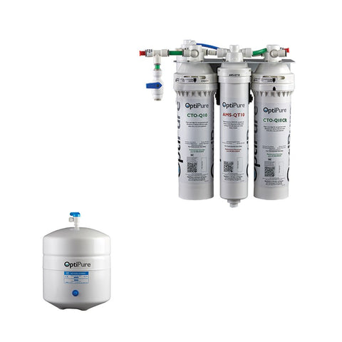 OptiPure OP70CR/2, 164-01102, 70GPD Reverse Osmosis System, Chloramine Reduction, 2GAL Tank