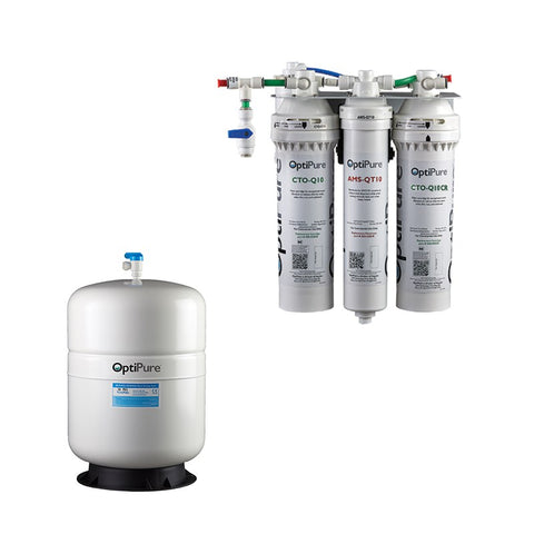 OptiPure OP70CR/5, 164-01105, 70GPD Reverse Osmosis System, Chloramine Reduction, 5GAL Tank