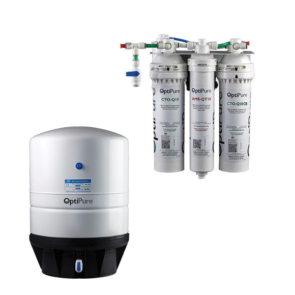 OptiPure OP70CR/10, 164-01110, 70GPD Reverse Osmosis System, Chloramine Reduction, 10GAL Tank