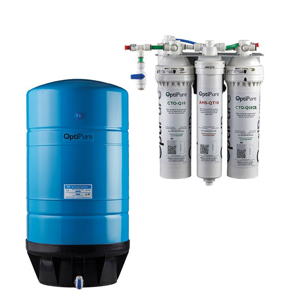 OptiPure OP70CR/16, 164-01116, 70GPD Reverse Osmosis System, Chloramine Reduction, 16GAL Tank