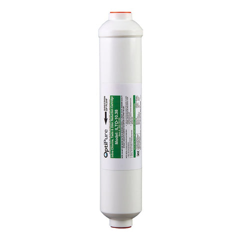 OptiPure ILTO-10.38, 252-70120, 10 inch In-Line Carbon Water Filter