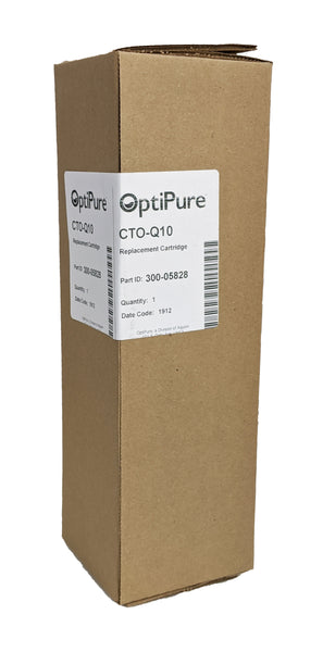 OptiPure CTO-Q10, 300-05828, 10 inch Qwik-Twist Carbon Water Filter