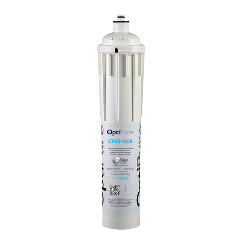 OptiPure CTOS-QCR, 300-05832, 15 inch Qwik-Twist Chloramine Reduction Filter, IsoNet® Scael Inhibitor