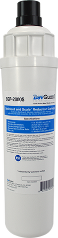 BevGuard BGP-2000S, 105162, Everpure Alternate Sediment Filter, Scale Inhibition