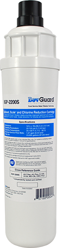 BevGuard BGP-2200S, 105117, Everpure Alternate Carbon Filter, Scale Inhibition