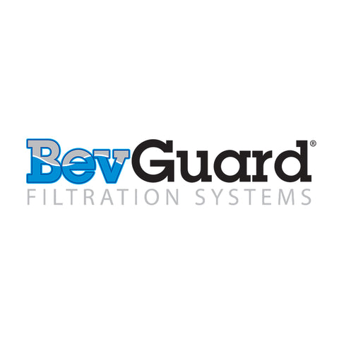 "BevGuard IN1211-1, 12 inch In-Line Coconut Carbon GAC Water Filter, 1/4""FPT"