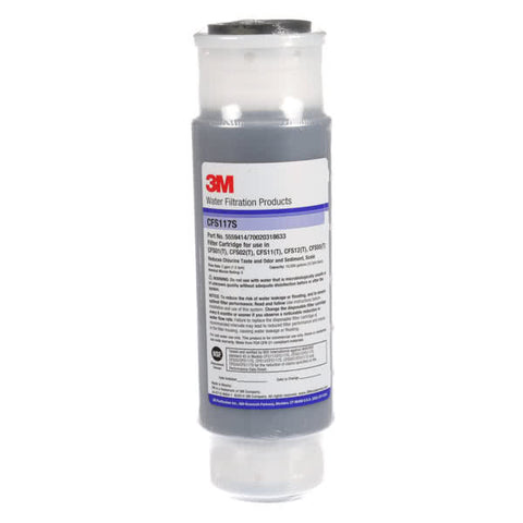3M Cuno CFS117S, 55594-14, 10 inch GAC Drop-In Water Filter Cartridge, Carbon, Scale Inhibitor