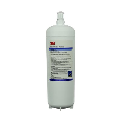 3M HF60-CL, 56259-01, Water Filter Cartridge, Carbon Water Filter, Chloramine Reduction