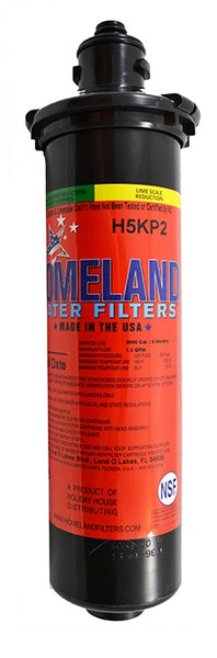 Homeland H5KP2, fits HQS-WF, for DEV9830-01, Carbon Water Filter, Scale Inhibitor