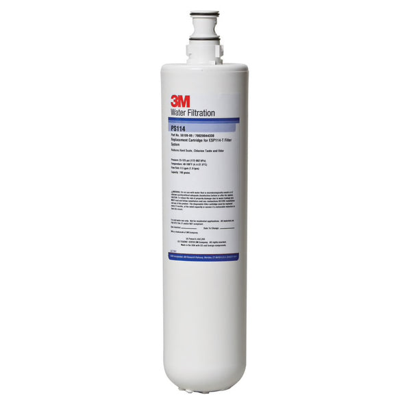 3M PS114, 56340-01, Water Filter Cartridge, Water Treatment, Softening, Espresso