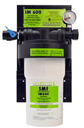 Selecto SMF IM600, 80-6100S, Single Hollow Carbon Filter System, Scale Inhibitor
