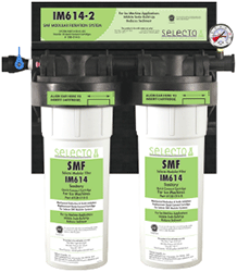 Selecto SMF IM614-2, 80-6142S, Twin Hollow Carbon Filter System, Scale Inhibitor