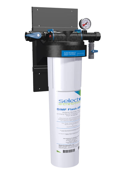 Selecto SMF SteamerGuard Flash2000, 81-3210, Single Hollow Carbon Ceramic Filter System, Scale Inhibitor