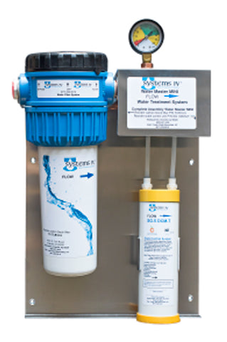 Systems IV WaterMaster Mini, SIV WMM, Multi-Use Carbon Filter System, Citryne Scale Inhibition