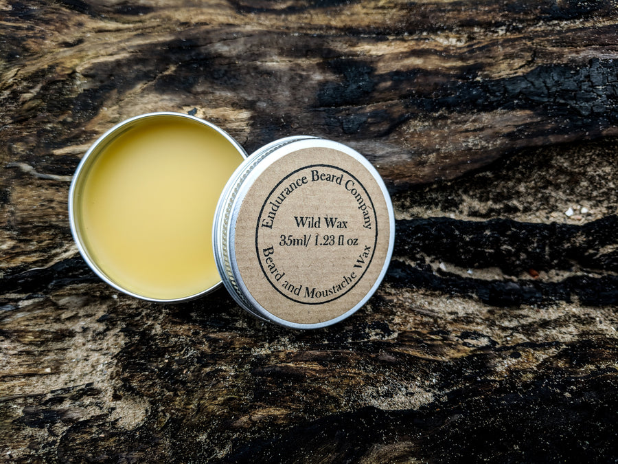 Wild Wax: Beard & Moustache Wax
