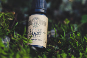 Irish Giant Beard Oil: Tobacco and Vanilla