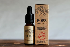 The Boss Beard Oil: Blood Orange and Cedarwood