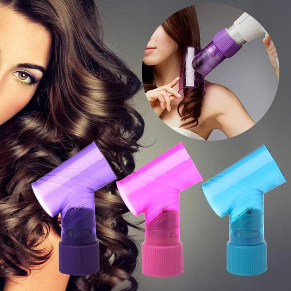HAIR DRYER TO BEAUTIFUL CURLS