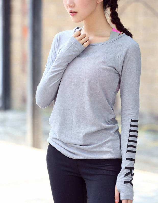 Breathable Sportswear Women T-Shirt