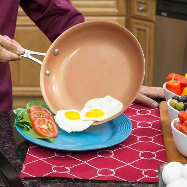 CERMITECH NON-STICK COPPER FRYING PAN