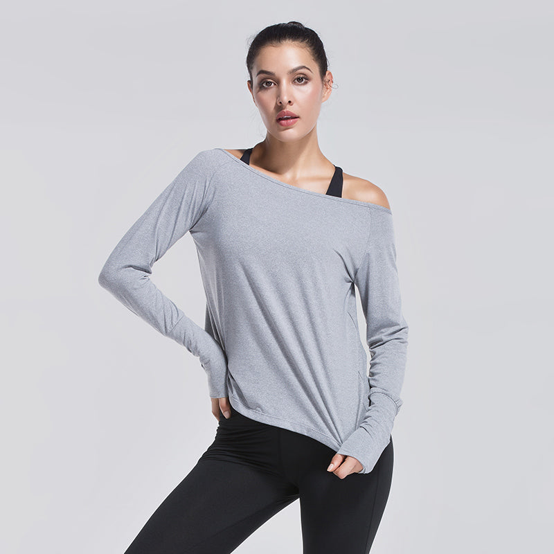COMFORTABLE LIGHTWEIGHT YOGA TOP (Open Back)