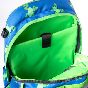 Flying Frogs Equestrian Backpack