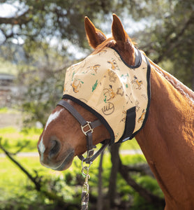 Southwest Fly Mask with Fleece Binding