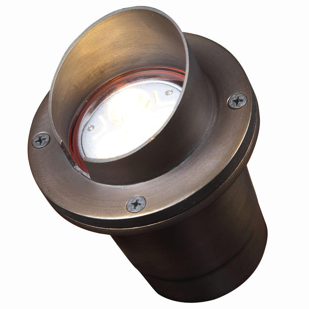 Marais Brass In-Ground Well Light | Free LED Bulb