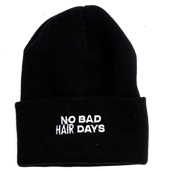 No Bad Hair Days Beanie