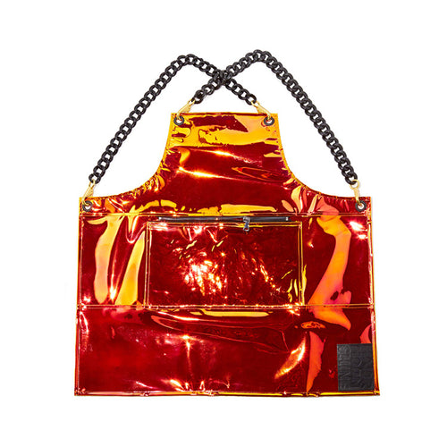 Major Apron- Red Iridescent