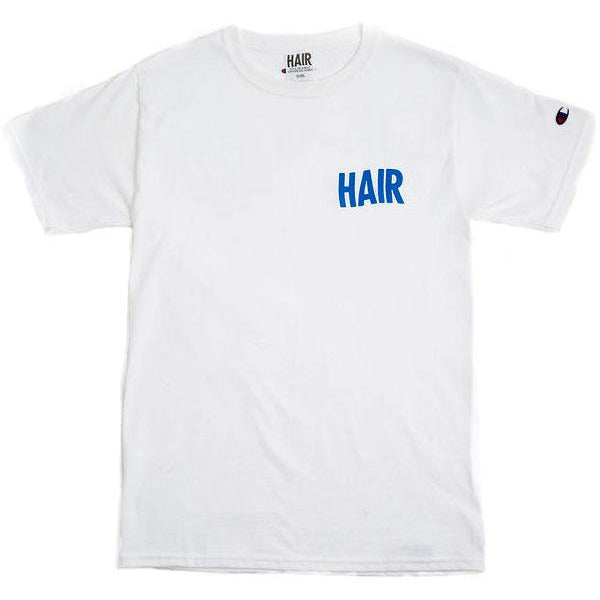 White HAIR Logo Shirt