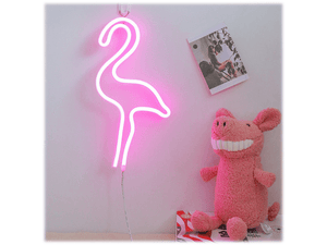 Neon lamp flamingo amazings