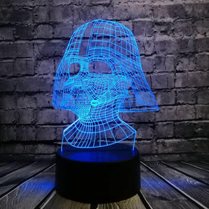 darth fader star wars fan kado lamp