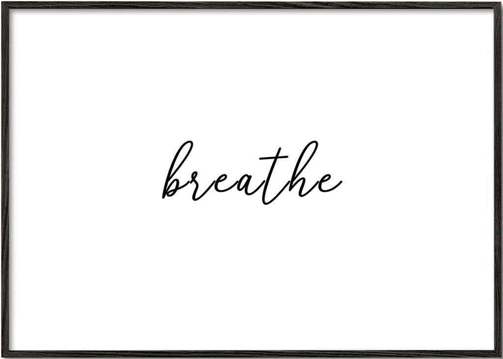 Breathe word