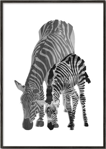 Striped love (Black and white)