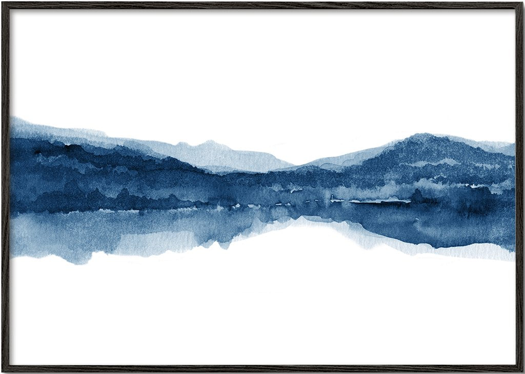 Watercolor landscape N1
