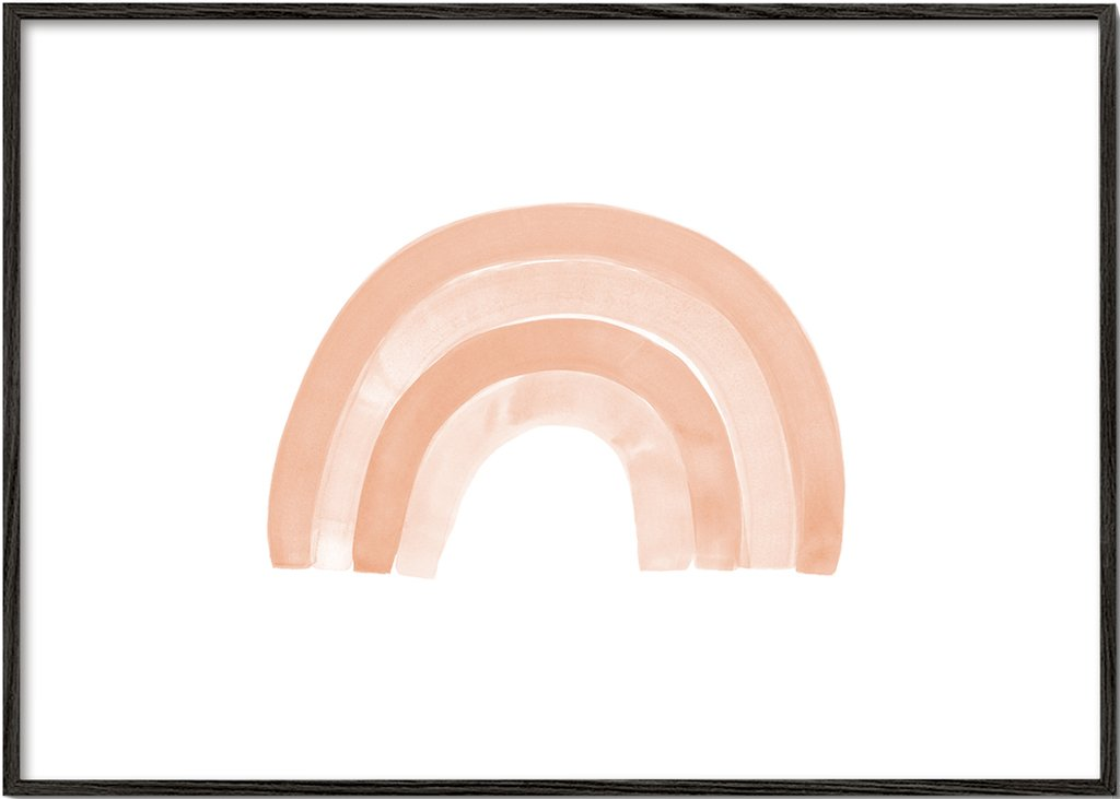 Watercolor rainbow 3