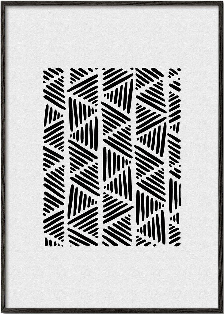 Black & white abstract I