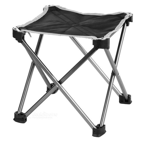 Ultra Light Aluminum Alloy Outdoor Folding Stool Chair