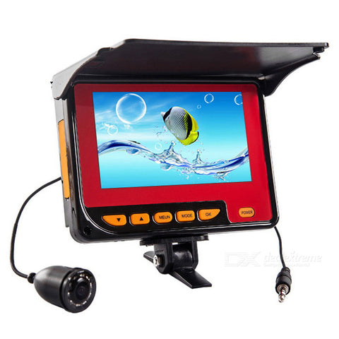 "4.3"" 1,000TVL Wide Angle Camera Fish Finder w/ 10-IR LED"