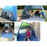 Outdoor Portable Automatic Pop Up 2 Person Beach Tent