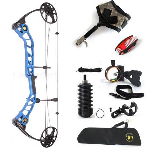 High Quality T1 Camo Hunting Compound Bow Archery Set Adjustable