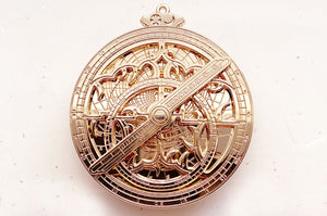 Astrolabe Star Navigator Gold Pin